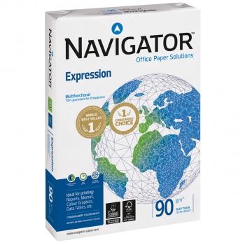 NAVIGATOR Kopierpapier/Universalpapier Expression in A4, 90 g/m², Pack à 500 Blatt