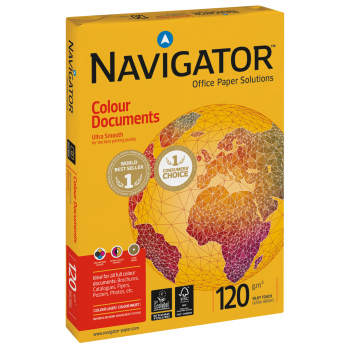 NAVIGATOR Kopierpapier/Universalpapier Colour Documents in A4, 120 g/m², Pack à 250 Blatt
