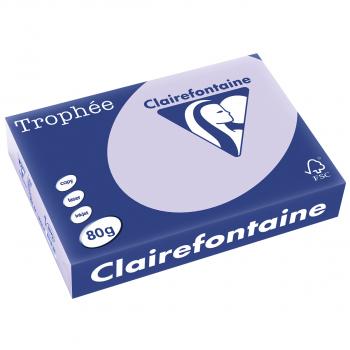 Papier copieur pastel Trophée , A4, 80g/m2, lavende, FSC, paquet de 500 feuill, No 85