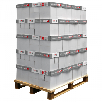 300 Pack FocusShop Kopierpapier/Universalpapier brillant white in A4, 80 g/m², Pack à 500 Blatt