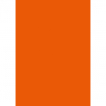 FocusShop Farbiges Papier colours in A4, 80 g/m², Pack à 500 Blatt, orange