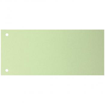 Trennstreifen 10.5 cm x 23.5 cm, grün, Pack à 100 Stück