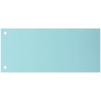 Trennstreifen 10.5 cm x 23.5 cm, blau, Pack à 100 Stück
