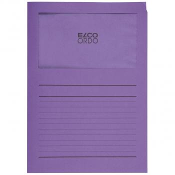 ELCO Ordo Classico mit Linien, violett, Pack à 100 Stück