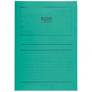 ELCO Ordo Classico mit Linien, smaragdgrün, Pack à 100 Stück