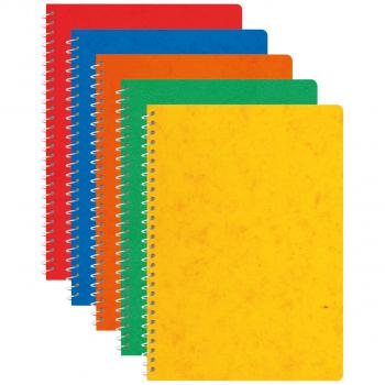 Ursus Spiralhefte A6 mit 48 Blatt, Pack à 10 Stück