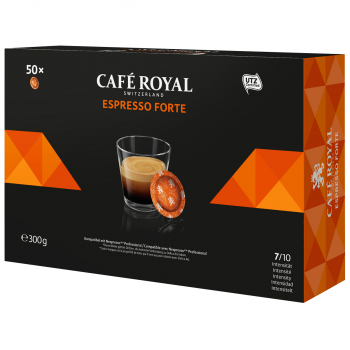 Café Royal Office Pads Espresso Forte, 50 Pads