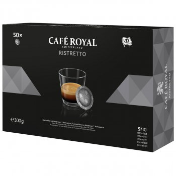Café Royal Office Pads Ristretto, 50 Pads