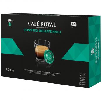 Café Royal Office Pads Espresso Decaffeinato, 50 Pads
