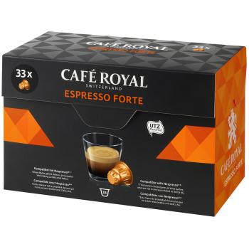 Café Royal Espresso Forte, 33 Kapseln