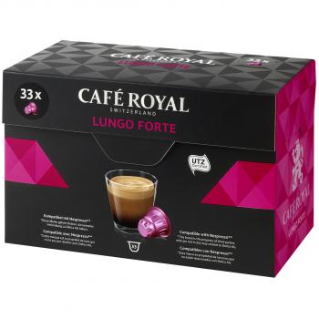 Café Royal Lungo Forte, 33 Kapseln