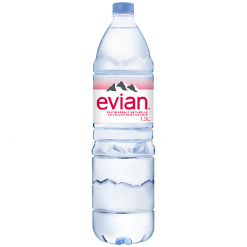 Evian Mineralwasser, ohne Kohlensäure, 6 x 150 cl