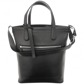 GREAT! Businesshandtasche aus feinstem Leder, schwarz