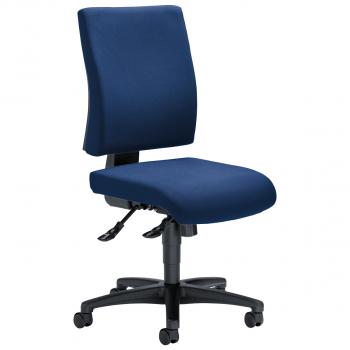Bürodrehstuhl Comfort R, dunkelblau
