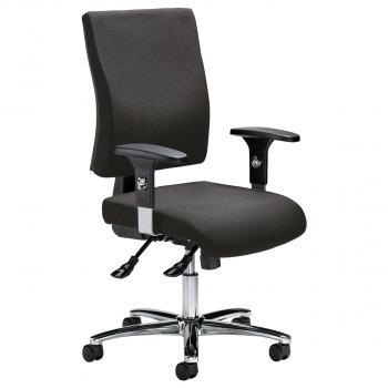 Bürodrehstuhl Comfort R Deluxe inkl. Armlehnen, anthrazit