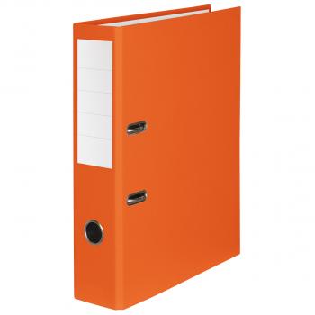 Color-Ordner mit 7 cm Rückenbreite, orange