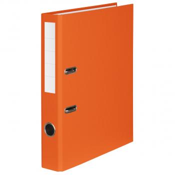Color-Ordner mit 4 cm Rückenbreite, orange