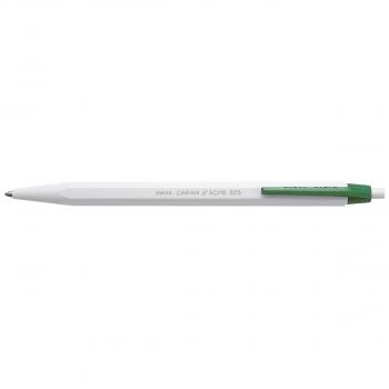 CARAN D'ACHE Einweg-Druckkugelschreiber 825 Schreibfarbe grün