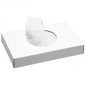 Sachets hygiéniques blanc, pour distributeur n° 8606, bôite de 30 sachets