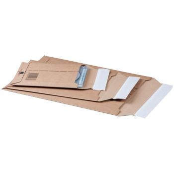 smartboxpro Versandtaschen für z.B. C4+, braun, Pack à 25 Stück