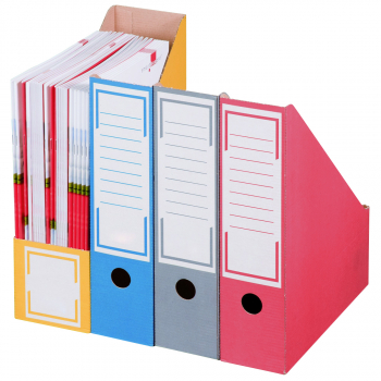 smartboxpro Archivstehsammler, blau, Pack à 20 Stück
