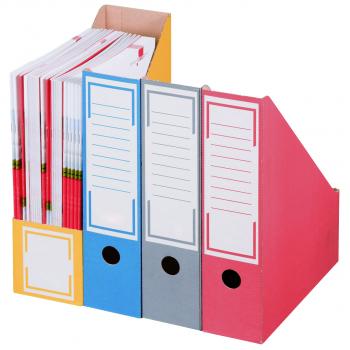 smartboxpro Archivstehsammler, grau, Pack à 20 Stück