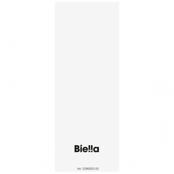 Biella selbstklebende Rückenschilder für Archivschachteln, weiss, Pack à 25 Stück