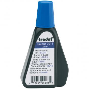 trodat Stempelfarbe 7011, 28 ml, blau