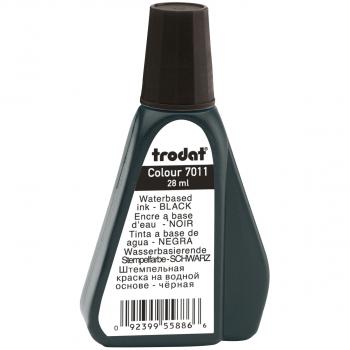 trodat Stempelfarbe 7011, 28 ml, schwarz