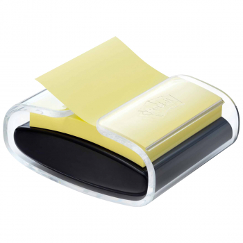 Post-it Z-Notes gelb 76 mm x 76 mm mit 90 Blatt inkl. Spender