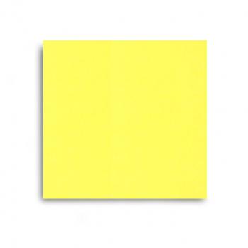 Edelweiss Servietten sonnengelb, 3-lagig, 40 x 40 cm, 1/4 Falz, randgeprägt, Pack à 100 Stück