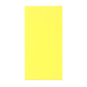 Edelweiss Servietten sonnengelb, 3-lagig, 40 x 40 cm, 1/8 Kopffalz, randgeprägt, Pack à 100 Stück