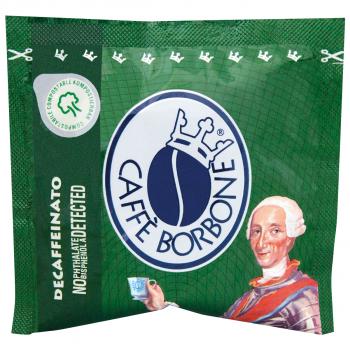 CAFFÈ BORBONE, Miscela Verde, koffeinfrei, 150 E.S.E Pads