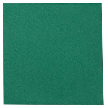 DENI meet Airlaid Servietten grün, 40 x 40 cm, 1/4 Falz, Pack à 50 Stück