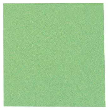 DENI meet Airlaid Servietten, apfelgrün, 40 x 40 cm, 1/4 Falz, Pack à 50 Stück