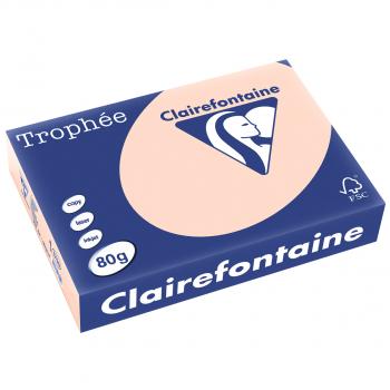 Trophée Kopierpapier farbig pastell A4, 80g/m2, Packung zu Blatt, lachs