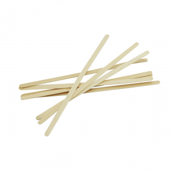 Rührstäbchen aus Holz, 14 cm, Karton à 10'000 Stück