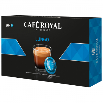 Café Royal Office Pads Lungo, 50 Pads