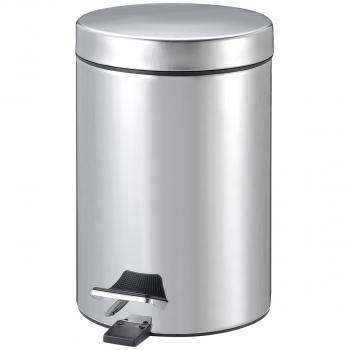 Tretabfallbehälter 3l Edelstahl, aus Stahl,mit Fusspedal