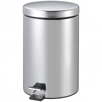 Tretabfallbehälter 5l Edelstahl, aus Stahl,mit Fusspedal