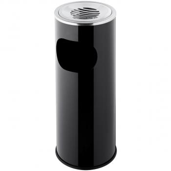 Standascher mit Abfallbehälter, 13l schwarz