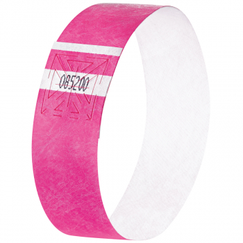 Eventbänder Super Soft, neon rosa, 255 x 25 mm, Pack à 120 Stück