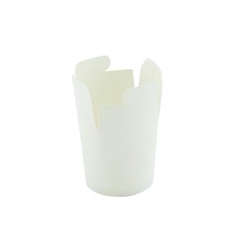 Mitnahme-/ Nudel-Box weiss, 550 ml, Pack à 50 Stück