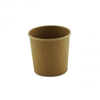 Becher aus Karton, 26 oz, 750 ml, brun, Karton à 500 Stück
