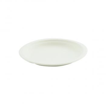 Bagasse Teller rund, Durchmesser 180 mm, Pack à 50 Stück