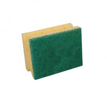 Padschwamm Profi klein gelb, grün, Pack à 10 Stuck
