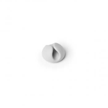 Kabel-Clips selbstklebend für 1 USB-Kabel CAVOLINE CLIP 1, grau, 20 x 12 mm