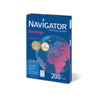 NAVIGATOR bold design Kopierpapier in A4, 200 g/m², Pack à 150 Blatt