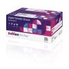 Satino prestige Toilettenpapier 4-lagig, 150 Cps, hochweiss, Zellstoffmix, FSC, 9,4 x 13cm, Pack à 8 Rollen,