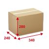 Kartonschachteln braun, 340 x 240 x 280 mm